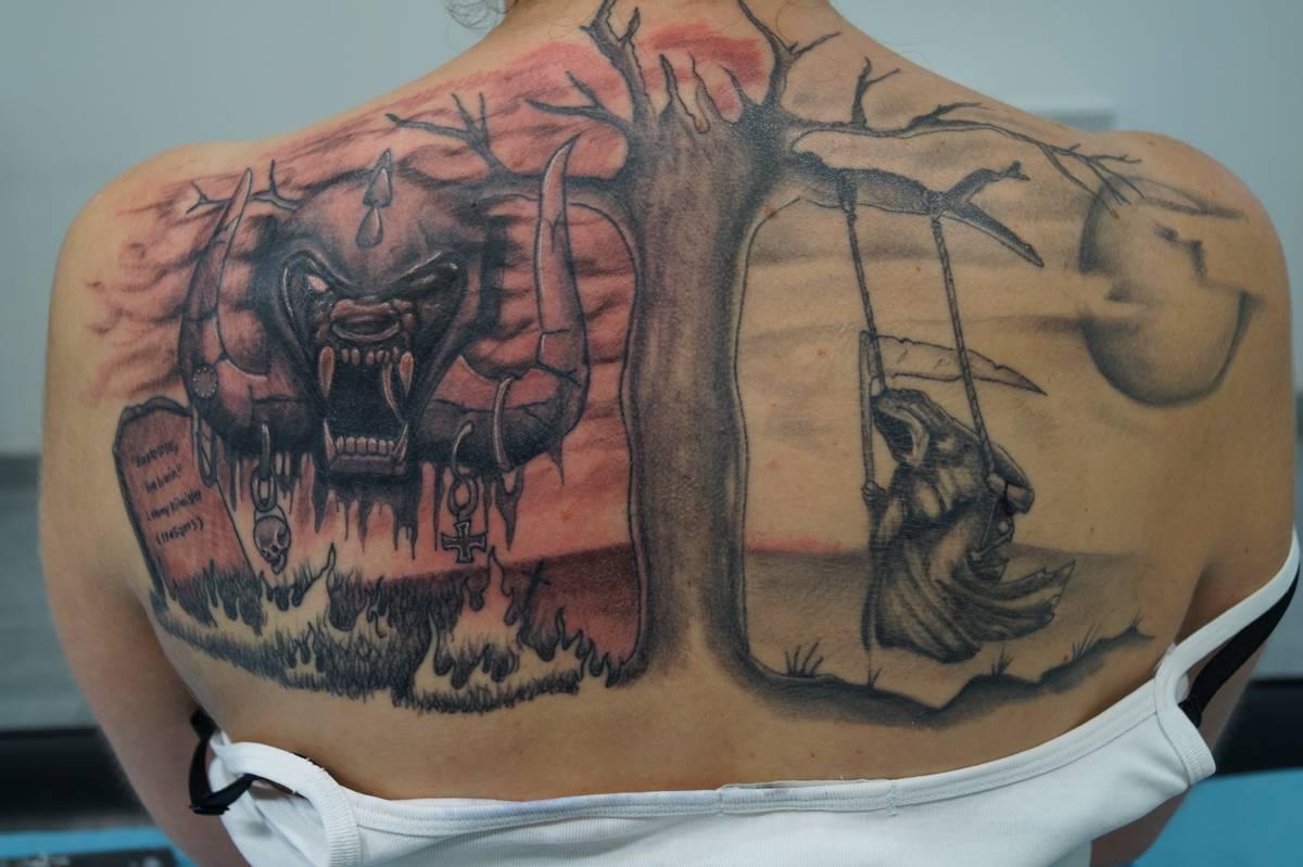 Salon De Tatouage Noir Ombrage Seclin Babylone Tattoo Piercing Lille
