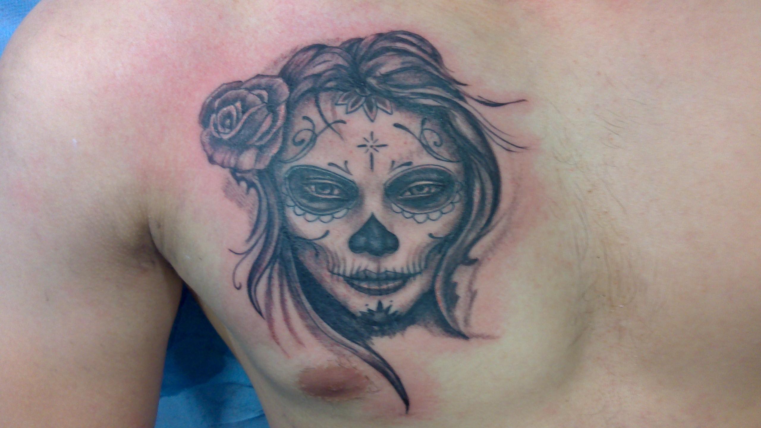 tattoo reamlisme calavera 63