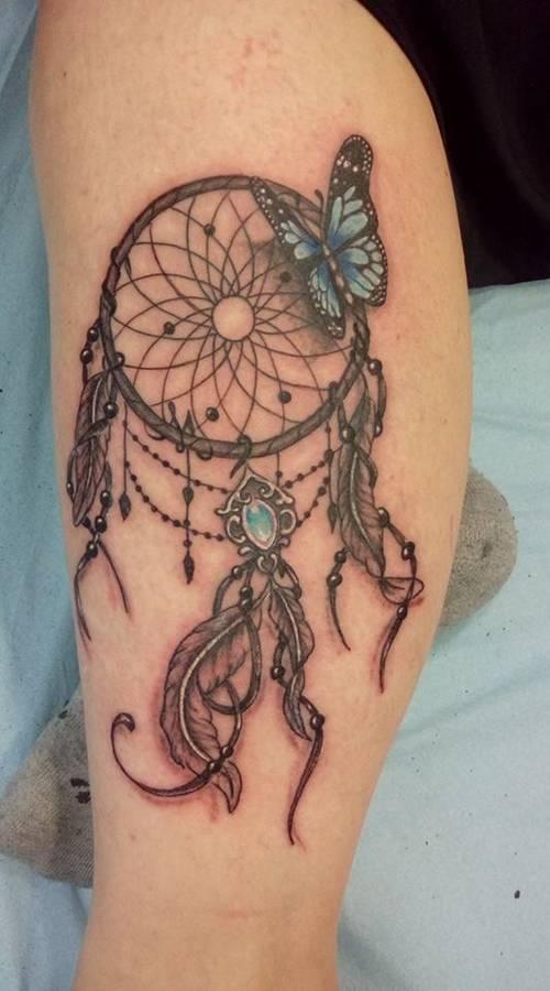 tattoo-couleurs-capteur-de-reve-plumes-papillion-18